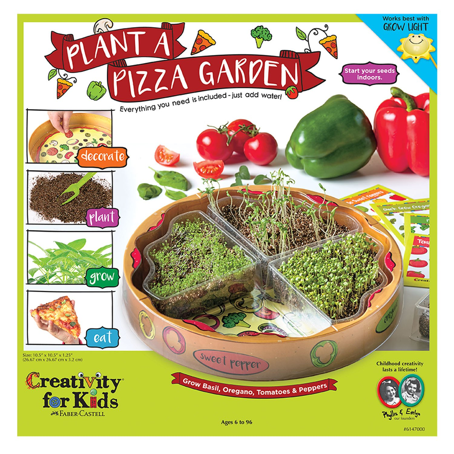 Final principl display panel - Plant a Pizza Garden