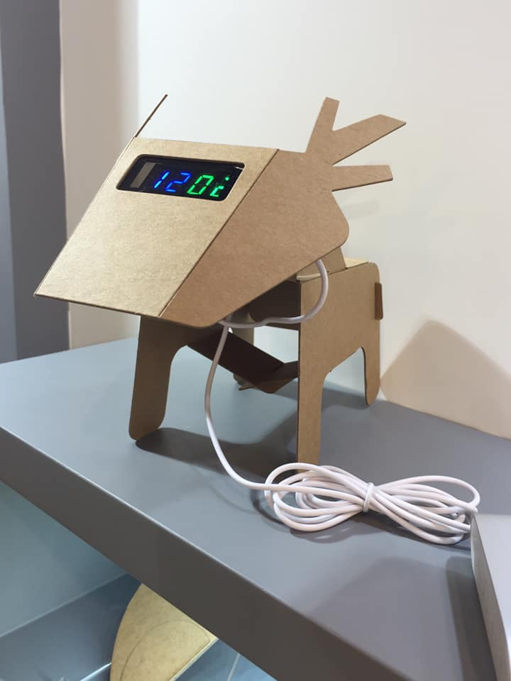 "LED USB Corrugate ""Deer"" - Hong Kong Gift Fair"