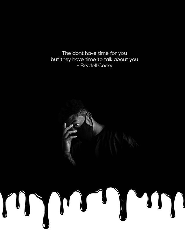 They don't have time for you but they have time to talk about you - Brydell Cocky   Yes my edit was inspired by @chrisbrownofficial