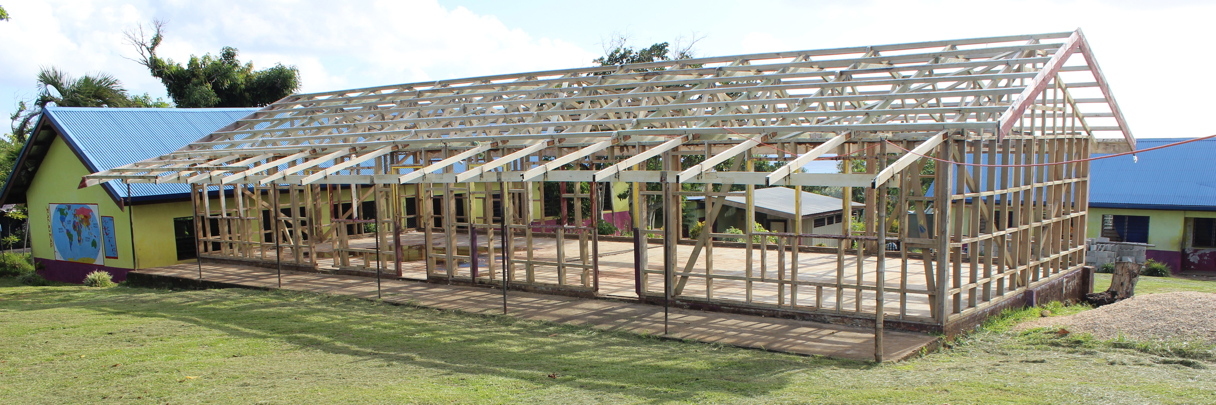 Classroom to be Reconstructed