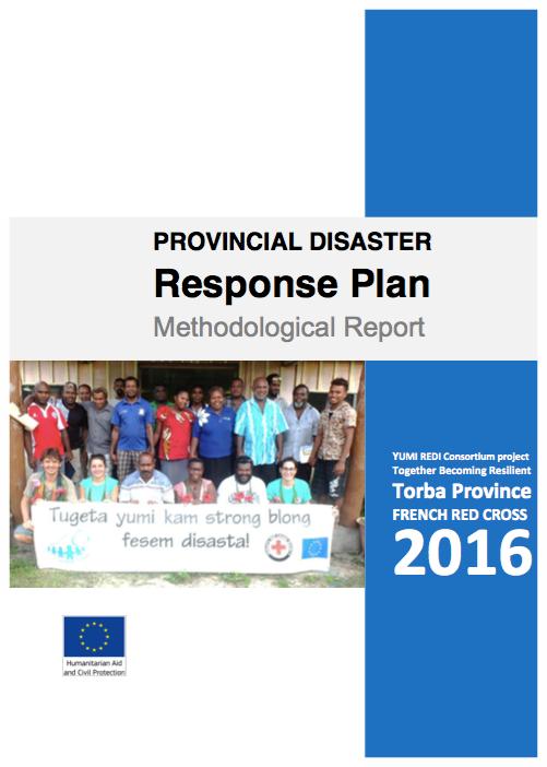 TORBA Disaster Response Plan 2016
