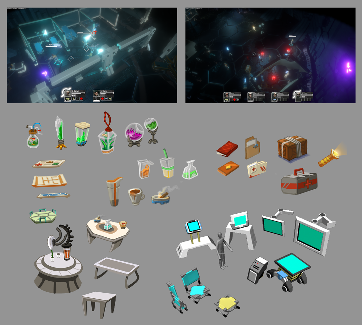"""Nullpoint"" Environment Objects (PC Title, Schell Games)"