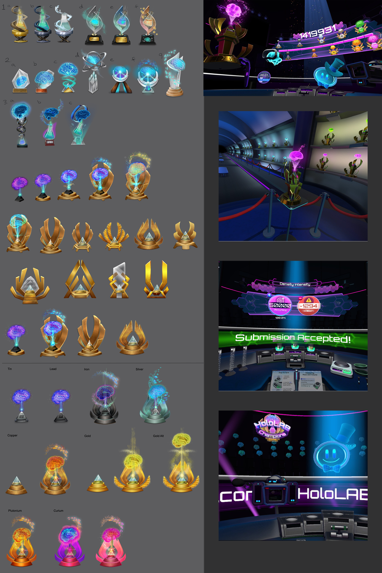 "Schell Games, ""HoloLab Champions"" VR Title: Trophy Concepts"