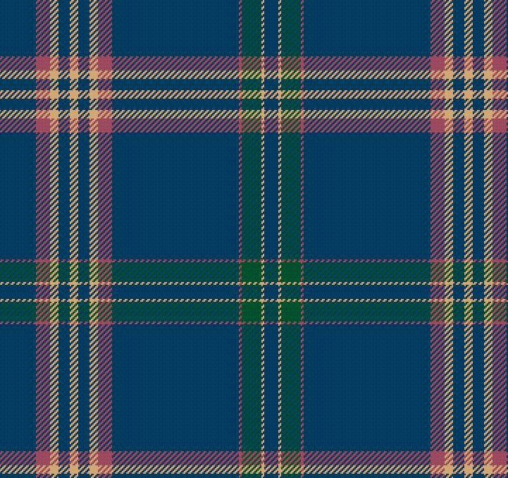 "The official ""Brooks Brothers"" tartan is but one of many designed by Brian Wilton, MBE, Scotland's Tartan Ambassador."