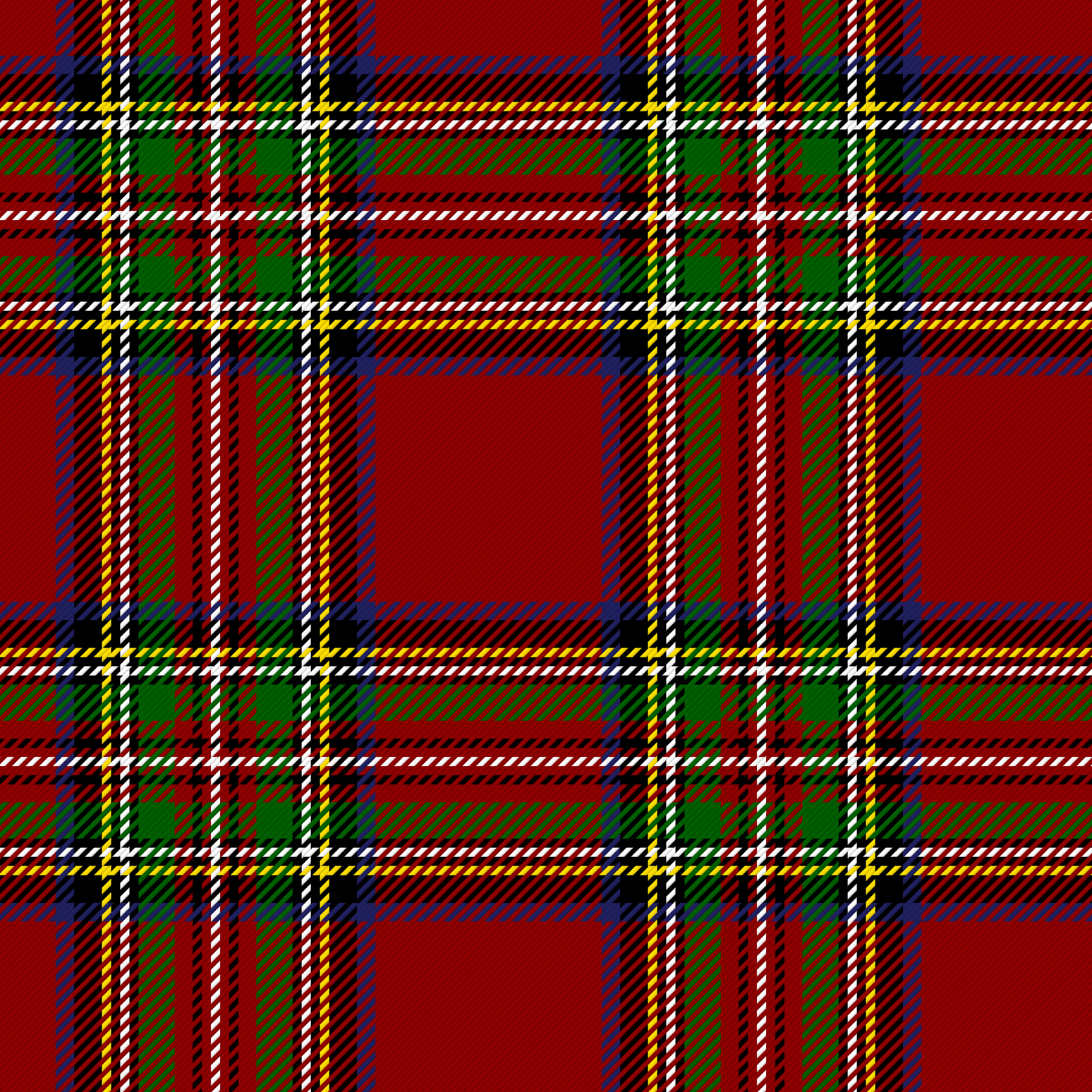 "The ""Royal Stewart"" tartan, worn by King George IV on his royal visit to Scotland in 1822 is perhaps the most popular tartan in the world."