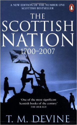 """""""The Scottish Nation: by Sir T. M. Devine is one of several books suggested by MacKay as pre-travel reading to gain a tru understanding of Scottish history and not just the Hollywood """"Braveheart"""" rendition."""