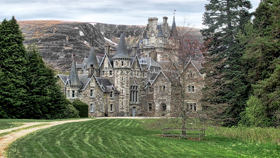 "Ardverikie Estate, known to million of fans around the world as ""Glenbogle"" from the TV production ""Monarch of the Glen"" is a fine example of Scottish Baronial style architecture. (Photo by the author)"