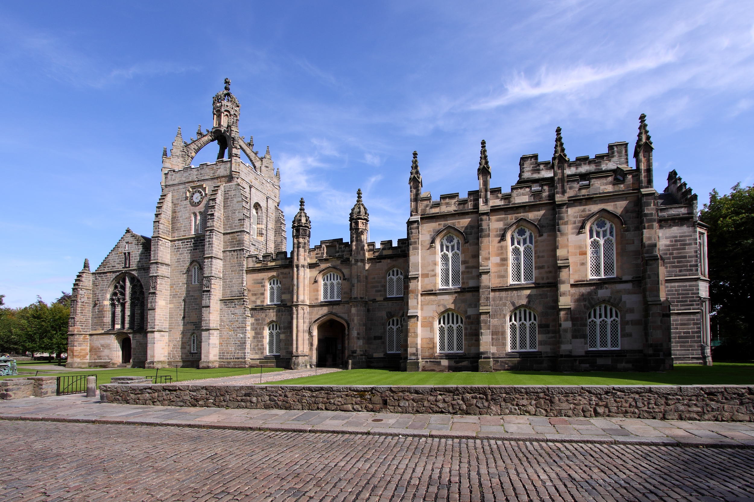 The University of Aberdeen founded in 1495