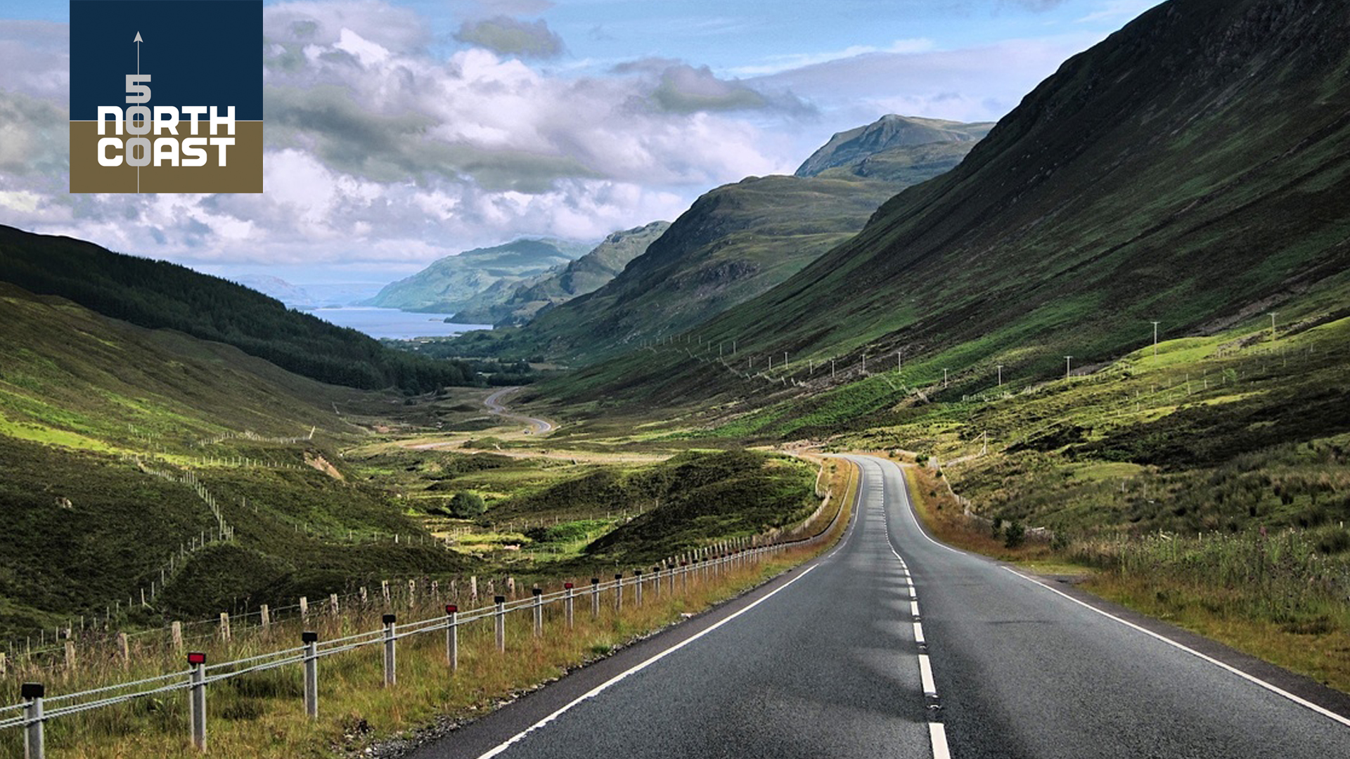 An essential element in any road trip is scenery and the North Coast 500 does not disappoint with views like this drive through Glen Docherty in Wester Ross.
