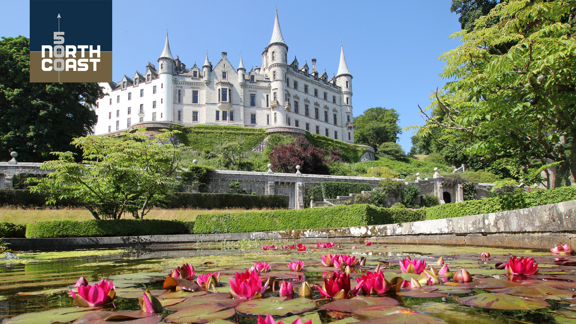 Dunrobin Castle has seen decades old visitor records smashed .