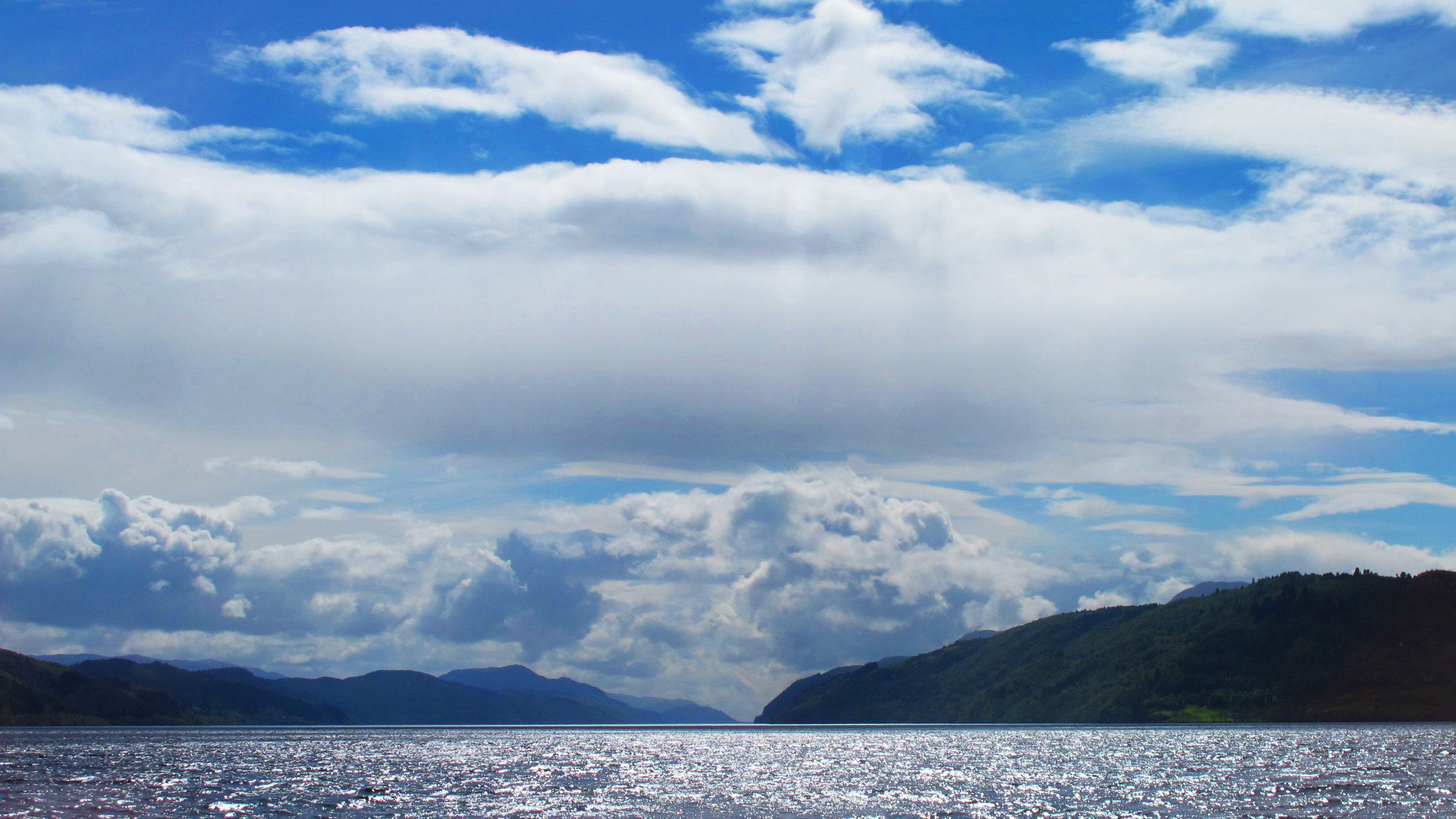 Loch Ness is the largest loch by water volume in all of Scotland. It holds more water than all of the lakes of England and Wales combined. Photo by Glen Moyer