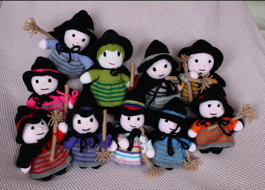 "The ten little witches, all in different colors, became the inspiration for Yorke to pen her first book, ""The Witch Hitch,"" teaching children about numbers AND color."