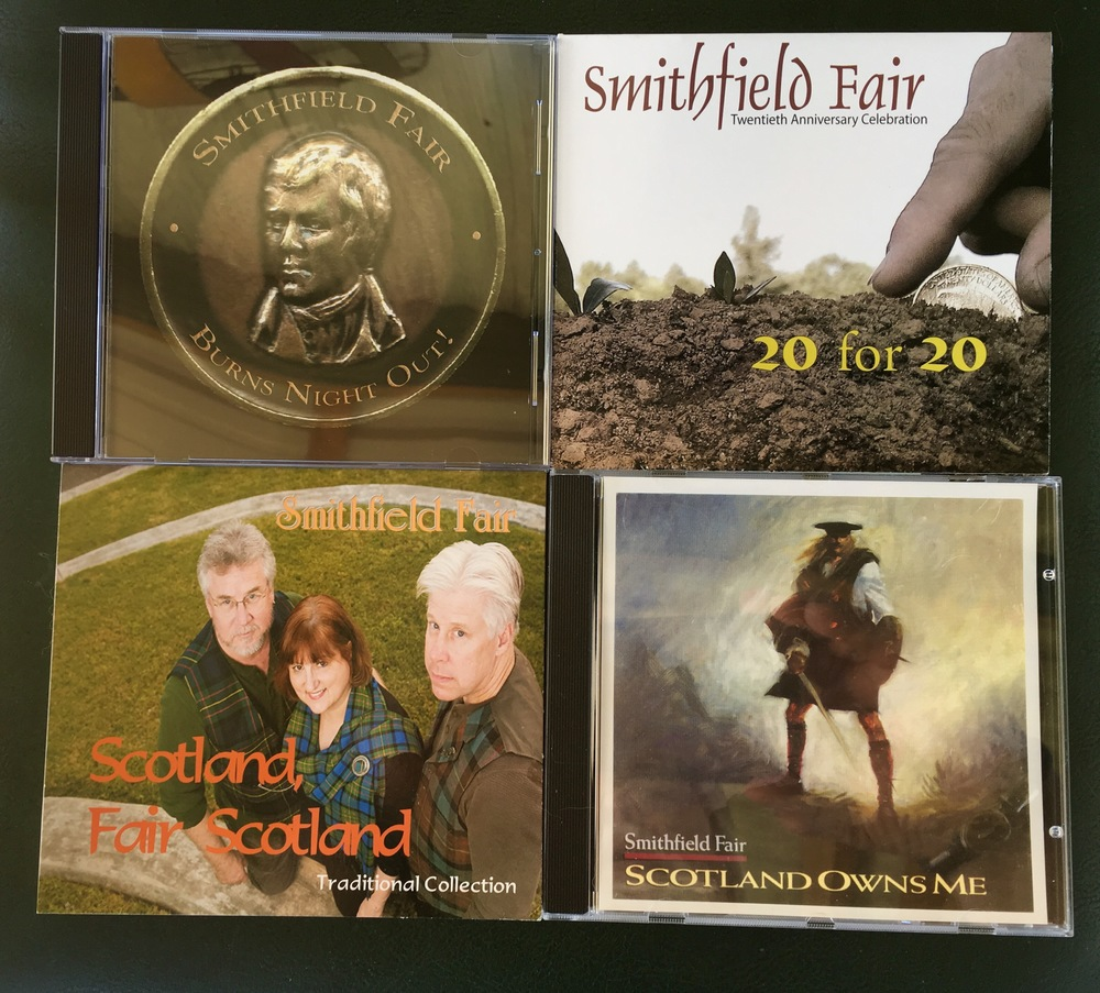 Four of the group's 30 CDs