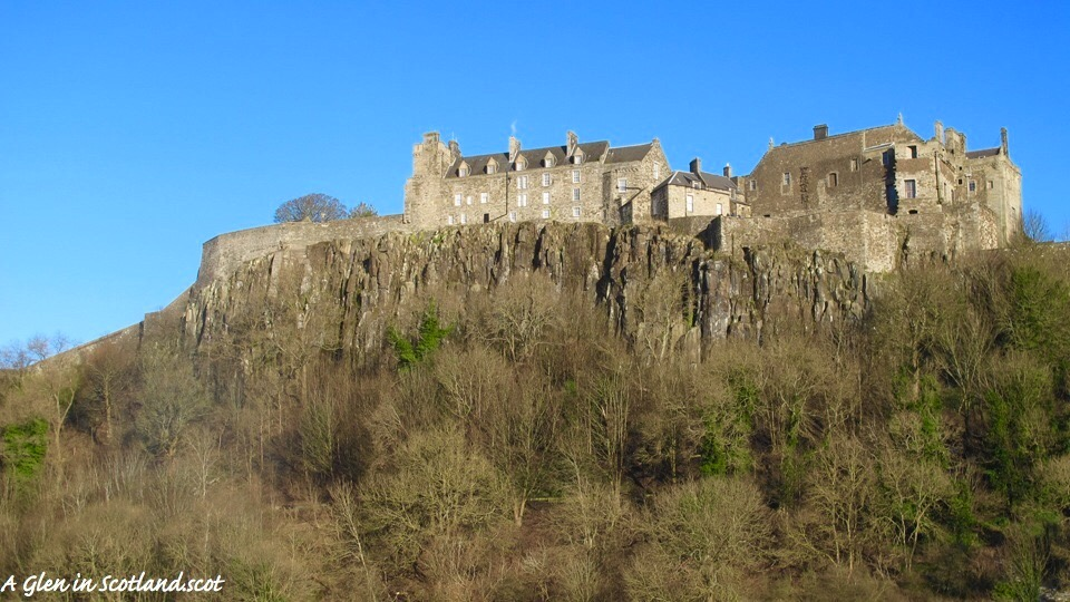 Stirling Castle, photo by the author