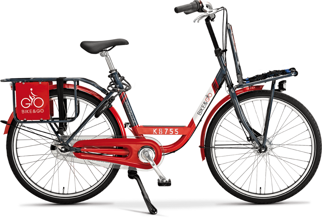 Bike and Go hire bikes can be found at most Scotland rail stations. Courtesy The Cycling Scot