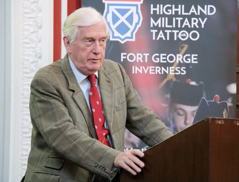 Major General Seymour Monro, Executive Chairman and Director of the Military Tattoo