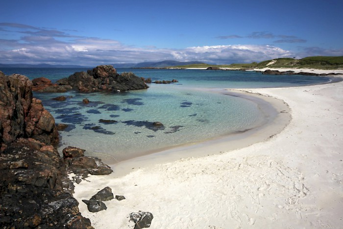 The beach at Iona. Photo courtesy The Majestic Line