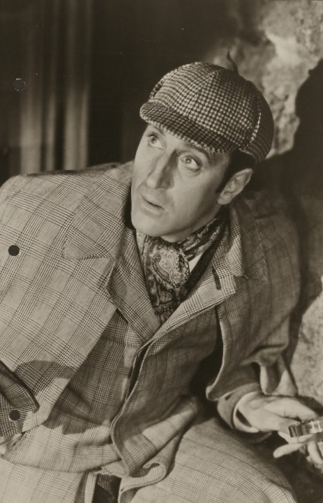 Basil Rathbone is considered by many to be the quintessential Sherlock Holmes and it was he who adopted the Deerstalker cap and Inverness cape as an iconic part of Sherlock's wardrobe.
