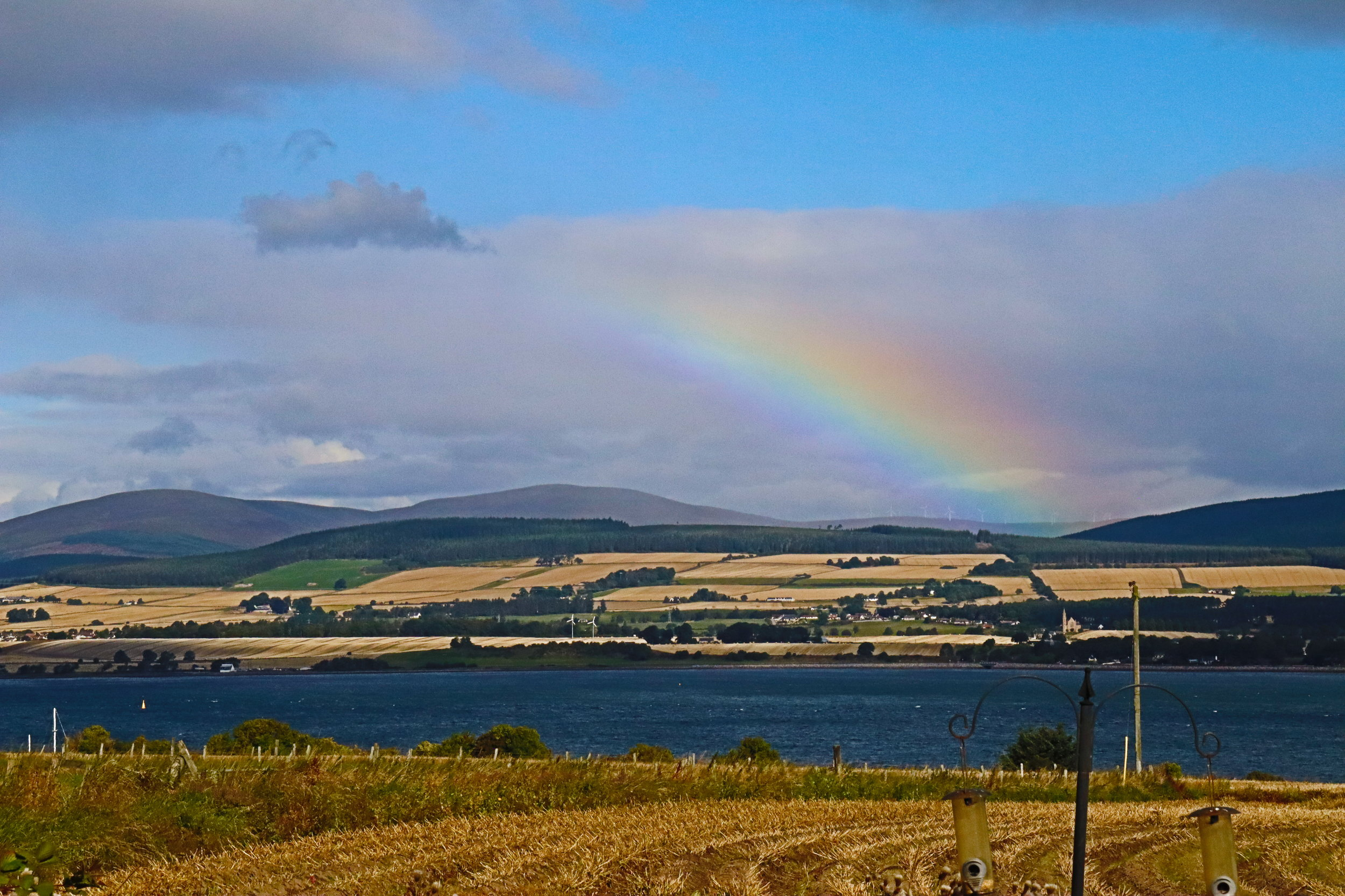 Rainbow from the Black Isle