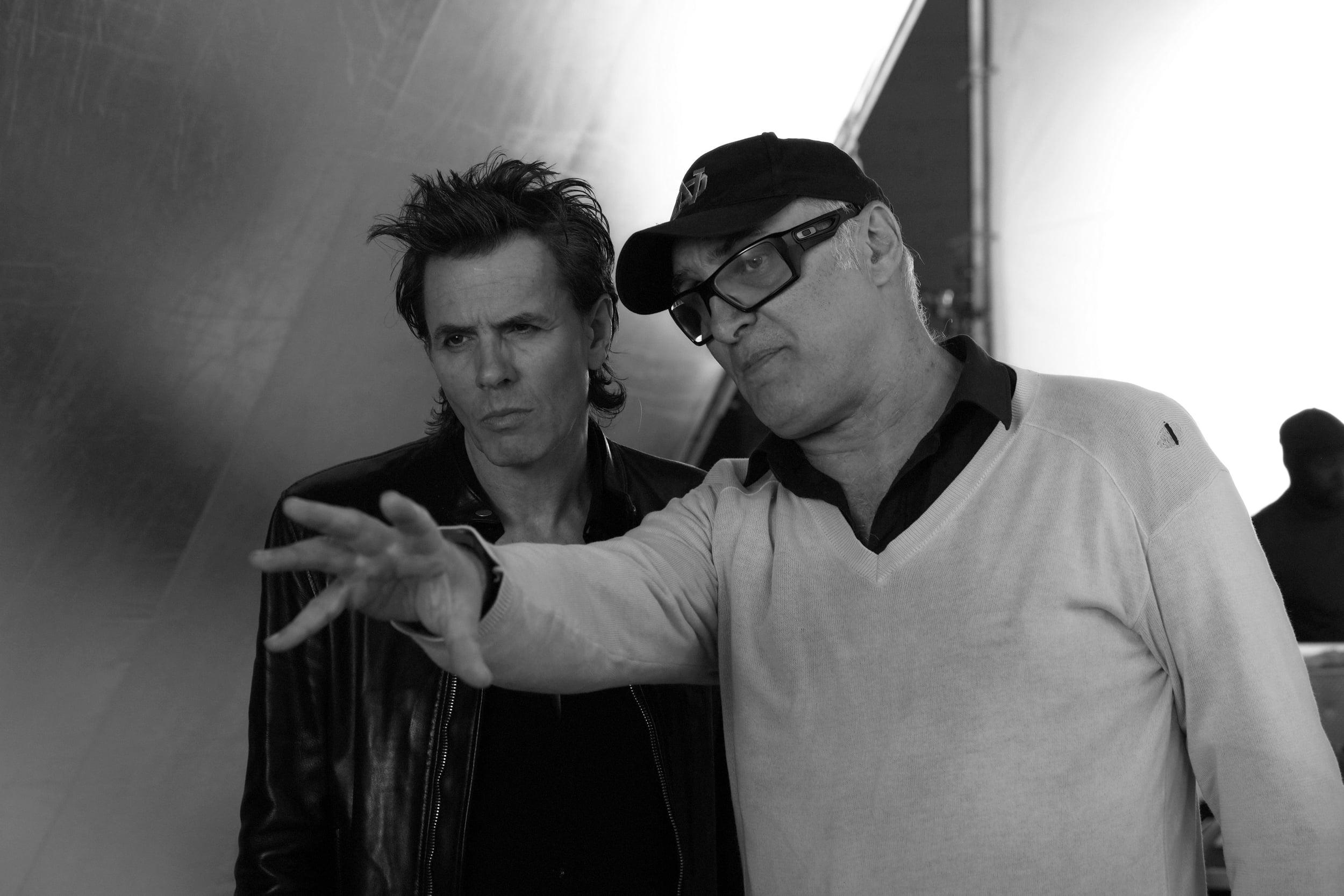 Nick Egan and John Taylor (of DURAN DURAN)   Photographer:  Stephanie Pistel