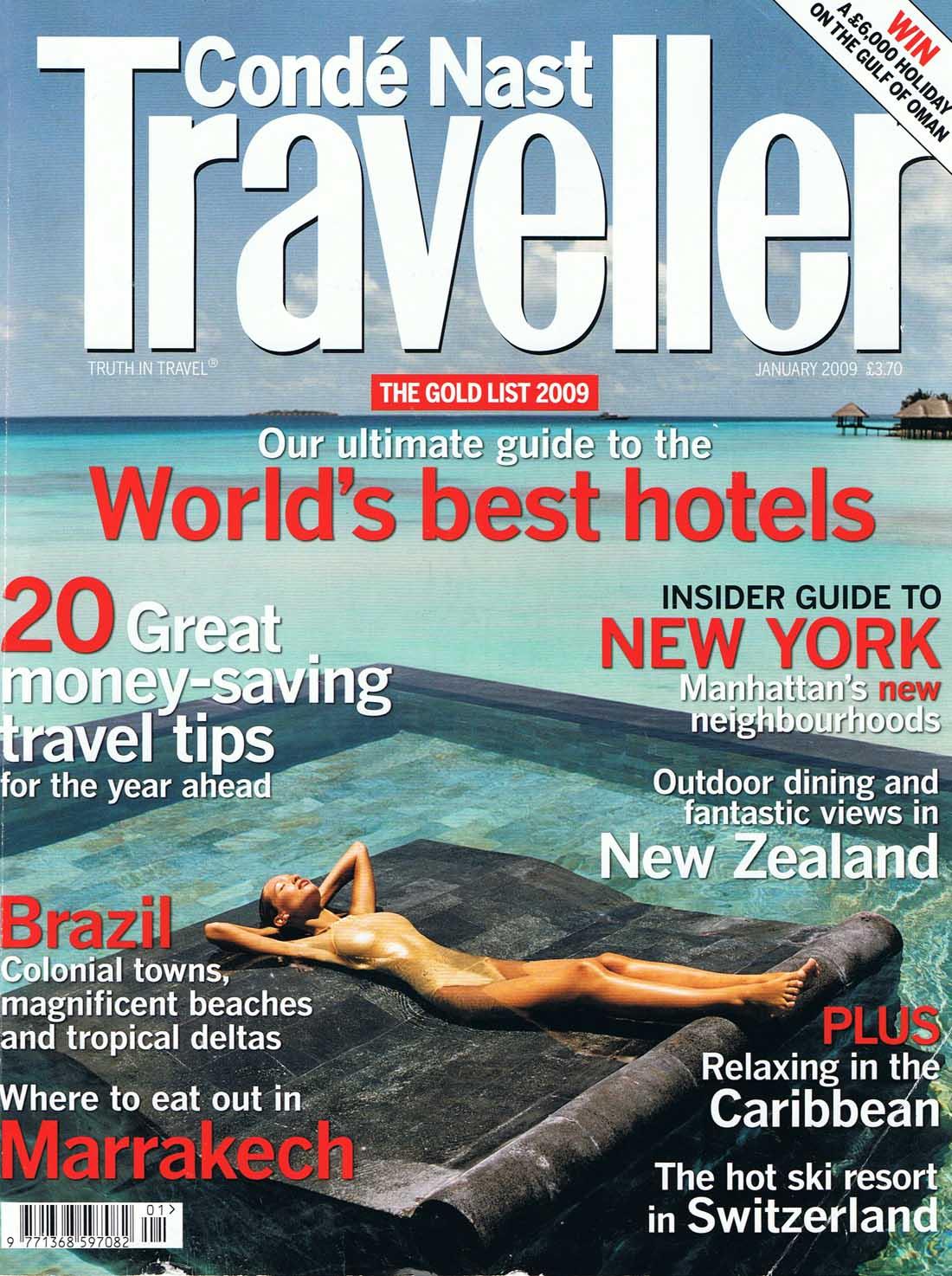 CONDE NAST TRAVELER  MAGAZINE    Media Kit  + Editorial Calendar
