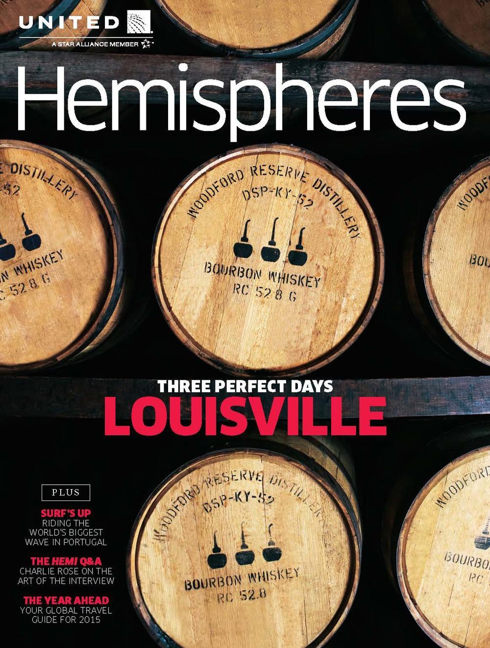 UNITED AIRLINES HEMISPHERES  MAGAZINE    Media Kit