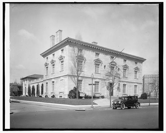 Embassy of Italy, circa 1920's.