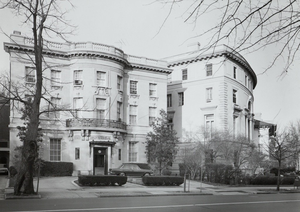 The Embassy of Chile, circa 1960s.