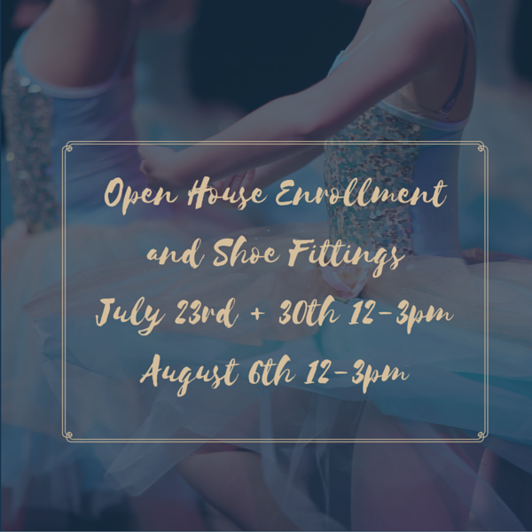 July 23 and 30 12-3 pm and August 6 12-3 pm @Sunflower State Dance