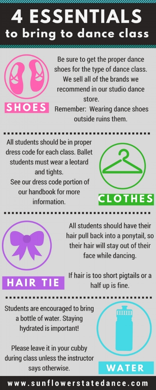 4 essentials to bring to dance class