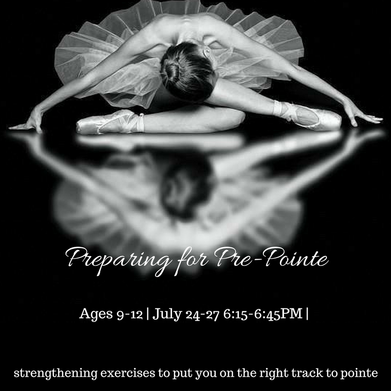 his class has been created especially for  dancers going into  Level 6 or Level 7 . Get a head start on strengthening those feet and ankles. Dancers will learn important exercises that are essential in preparing for pointe work.
