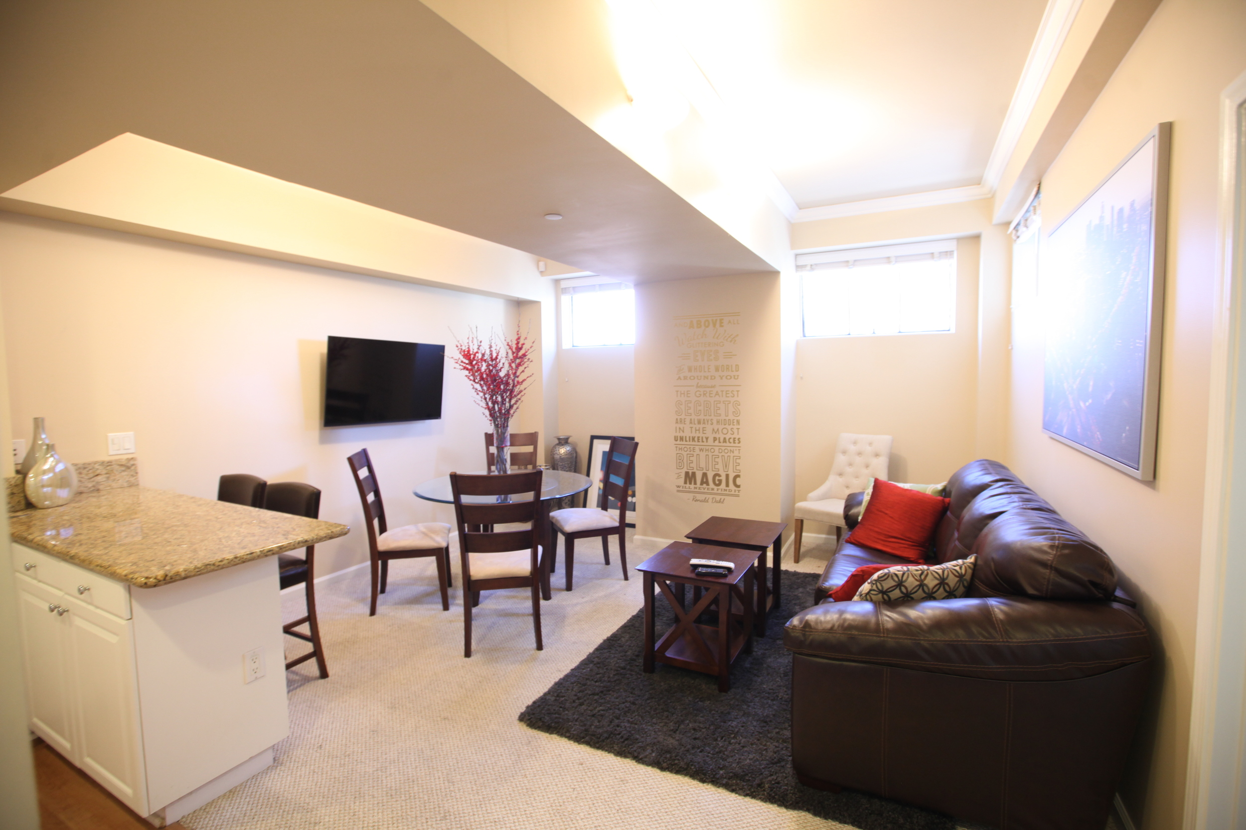 Unit 320 Living Room