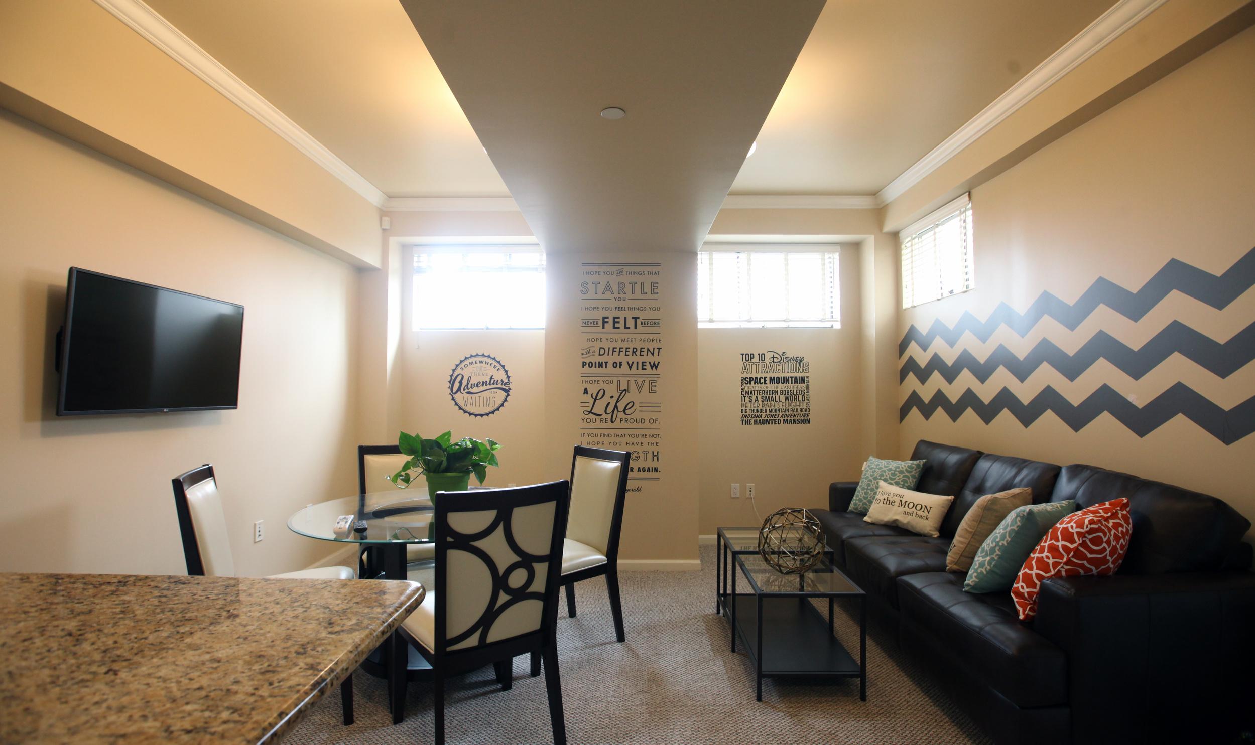 Unit 520 Living Room