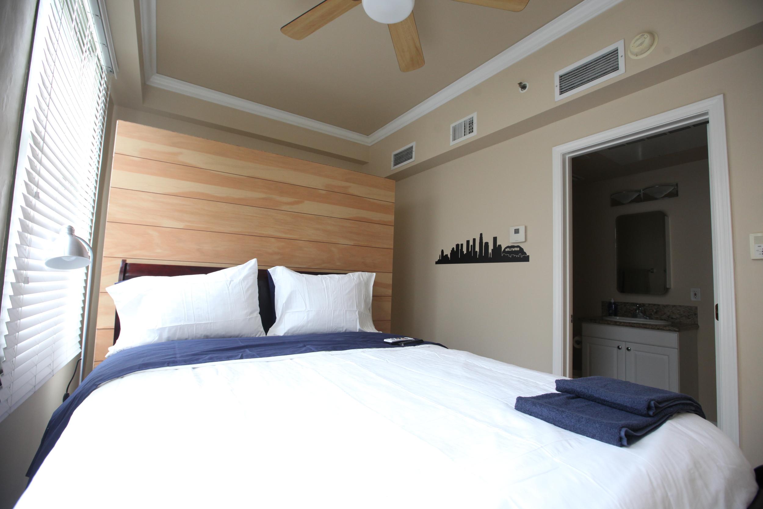 Unit 520 Bedroom