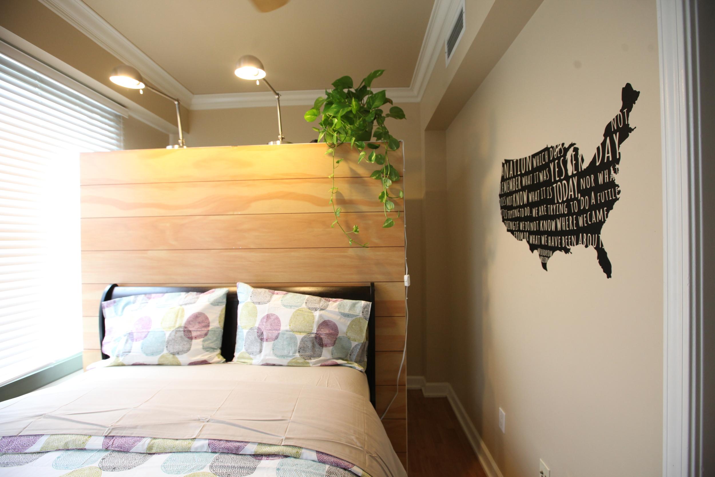 Unit 620 Bedroom