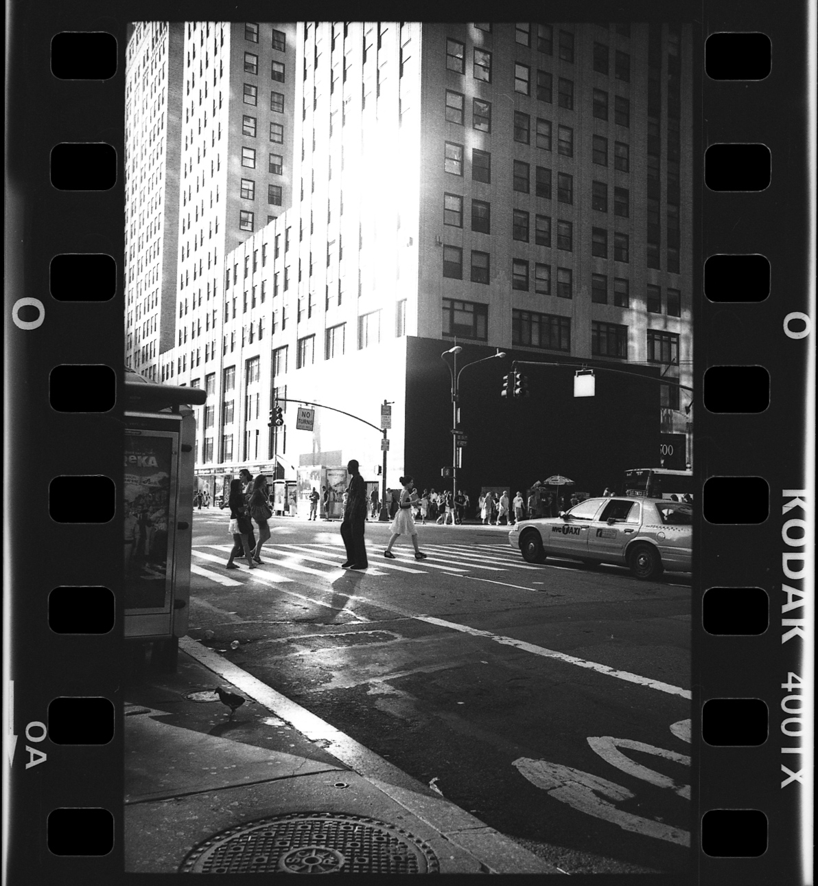 This work was recently exhibited at Kind of Gallery in Darlinghurst. The group show pays homage to 35mm film with each artist submitting the first or last frame on a rollof 35mm film. My work was shot late one afternoon in 2008 roaming the streets of NYC with my trusty Leica.
