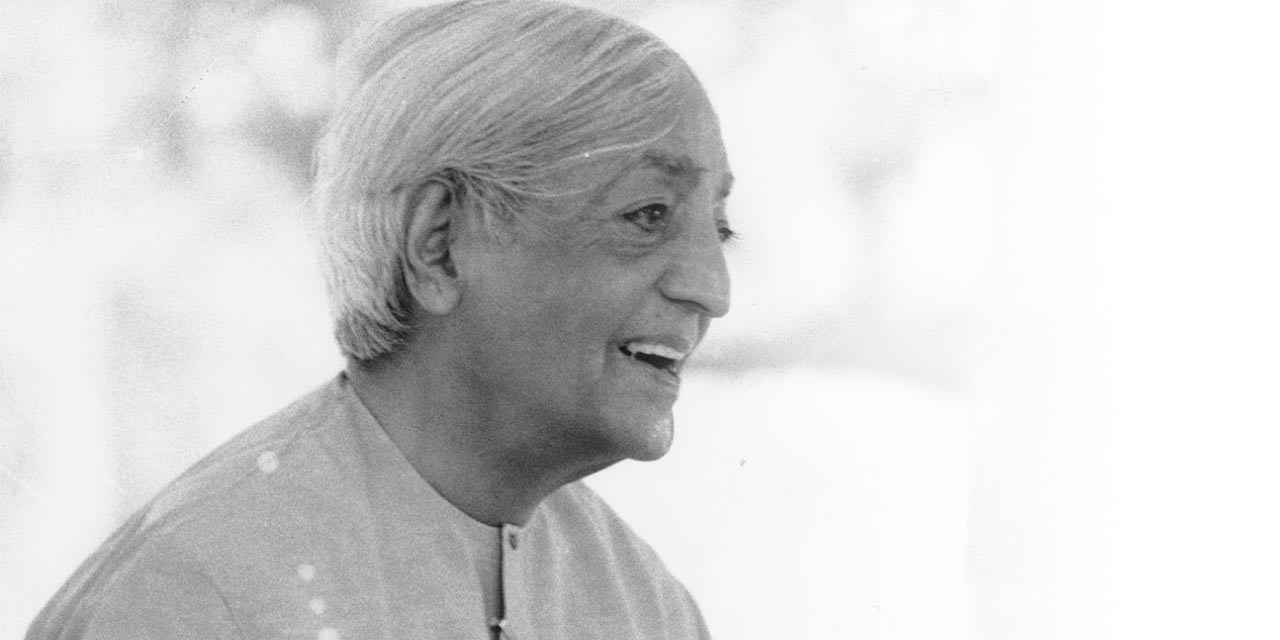 """""""Freedom comes into being only when the mind is no longer seeking security for itself, either in tradition or in knowledge. The mind is only free when it is capable of meeting life at every moment and that revelation is not possible when the mind is crippled by the past."""""""