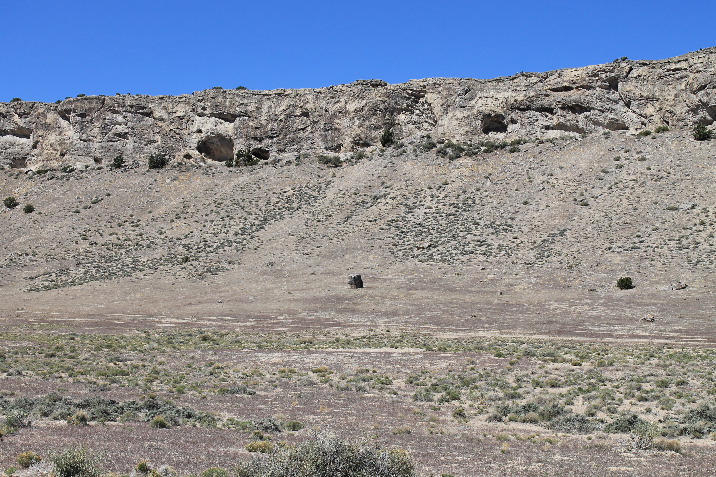 Ledger Canyon ridgeline
