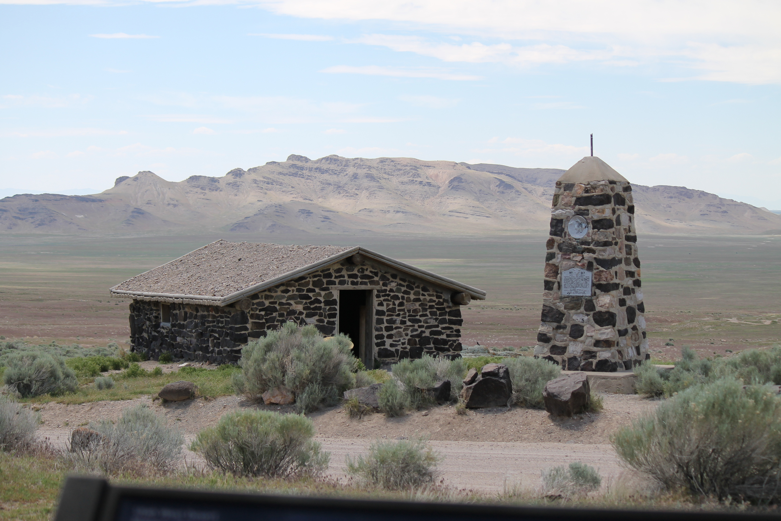 Pony Express Station at Simpson Spring