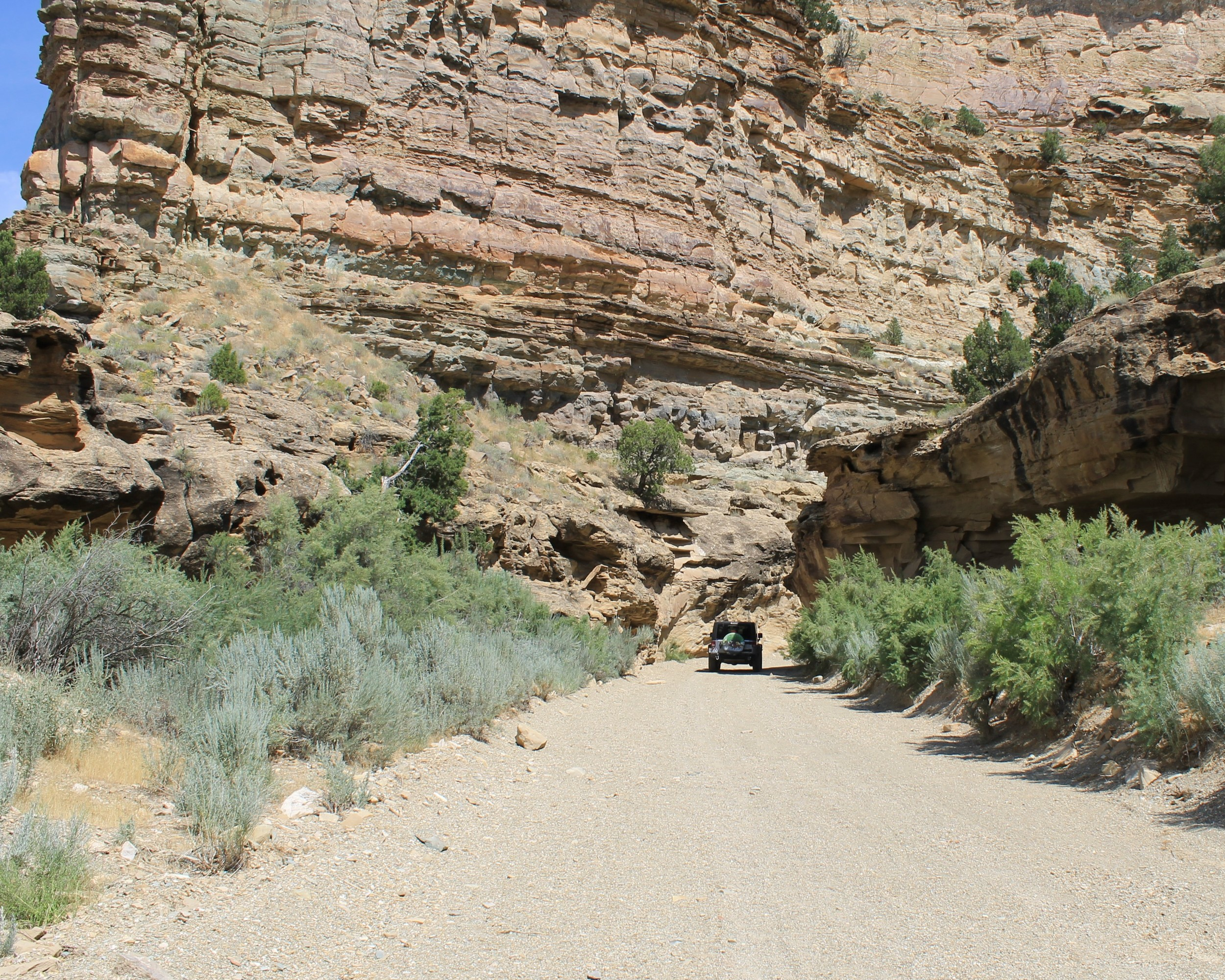 Entering Bull Canyon