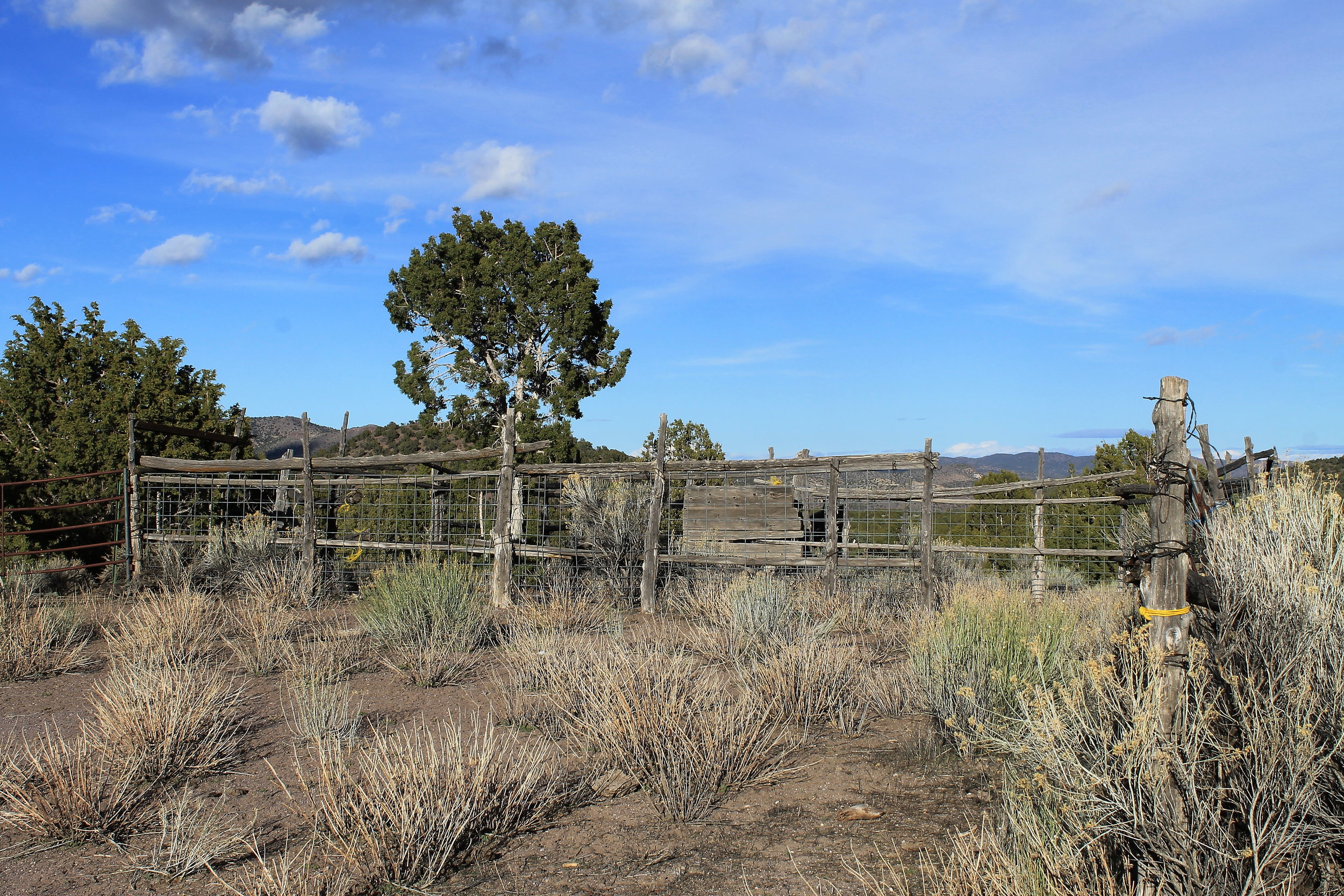 Old Corral at Bible Spring