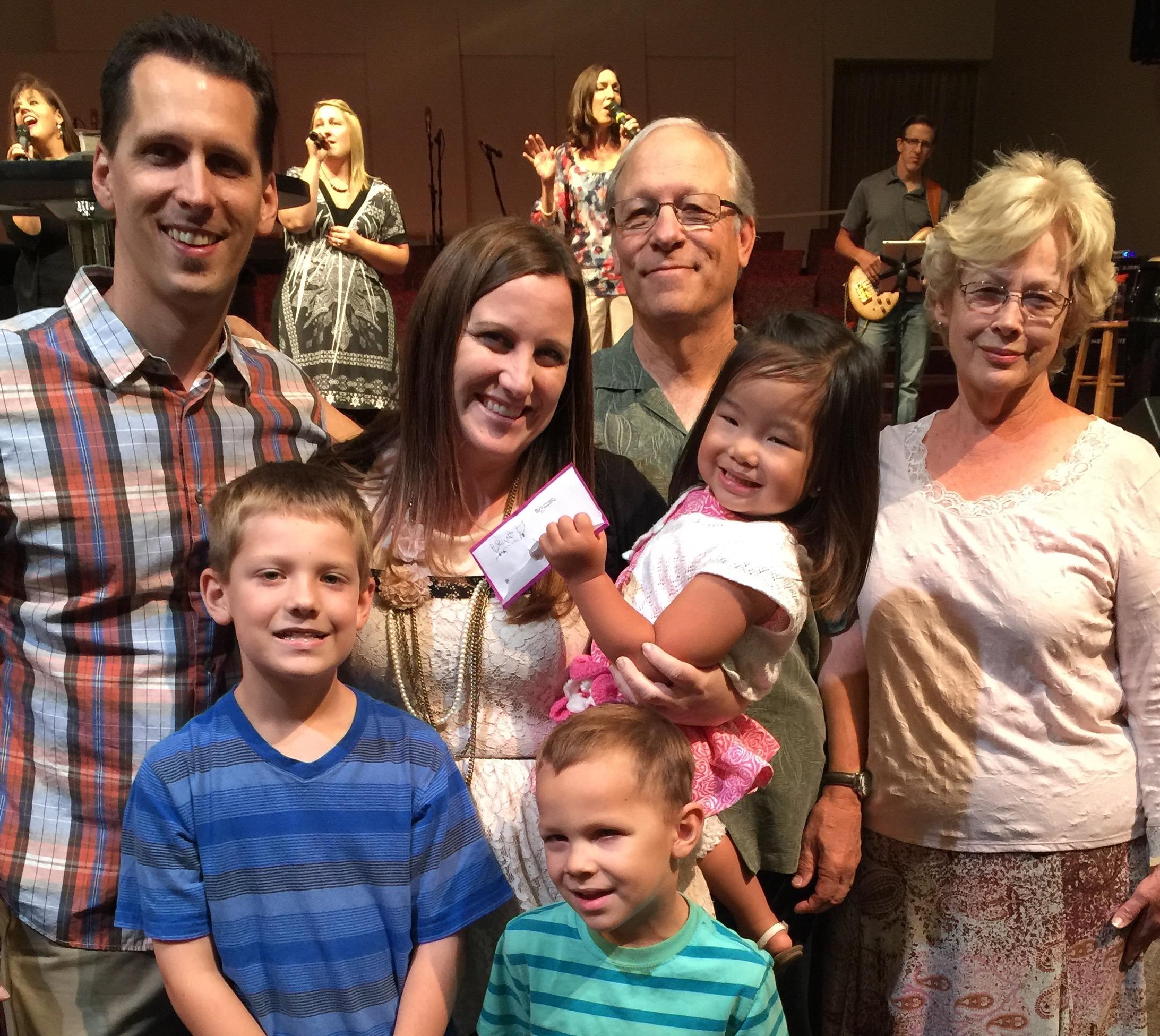 Tim Nielson family - 1ST BAPTIST/LODI