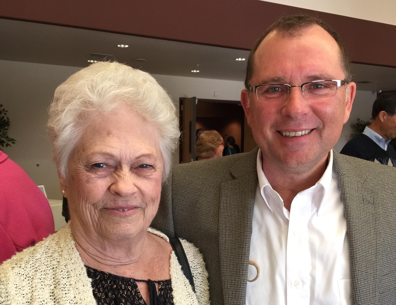 Donna Fischer (& Rick)