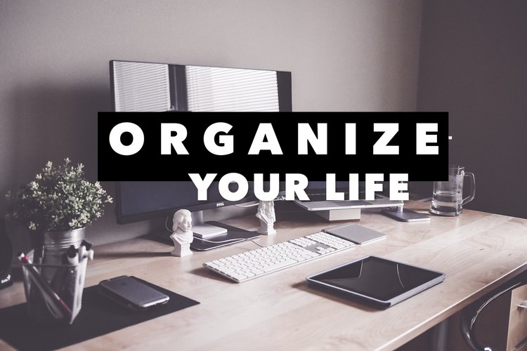 ORGANIZE YOUR LIFE SERIES   It would be foolish of us to leave out one of the key steps in order to change your life for the better... organizing your life! We understand how challenging it can be, which is why we have created a step-by-step guide for you be as efficient as possible. Click the image for more information.  Sign up for pre-orders (pay what you wish) are available. Be sure to let us know you're interested by clicking the link below.