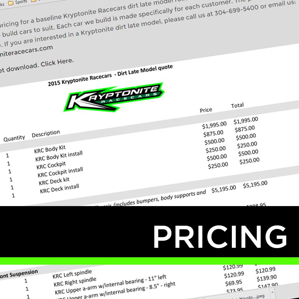 KRC Pricing