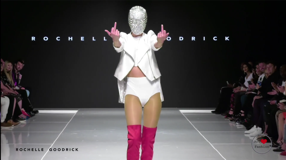 Collab With Rochelle Goodrick At Art Heart Fashion Show Cryptic Nine