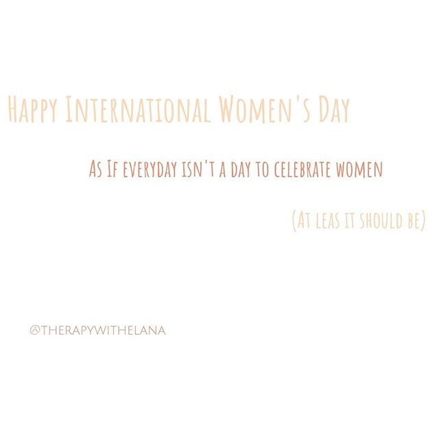 Happy International Women's Day to all of the women out their being their good enough selves in a world filled with unrealistic expectations and pressures. I see you 👀 I hear you 👂. Let's go make some more change for this world 🌎 of ours together. . . . . . #internationalwomensday #womenempowerment #women #goodenough #anxietyrelief #therapy #anxiety #maternalmentalhealth #postpartumdepression #encino #shermanoaks #studiocity #marvista #culvercity #venicebeach
