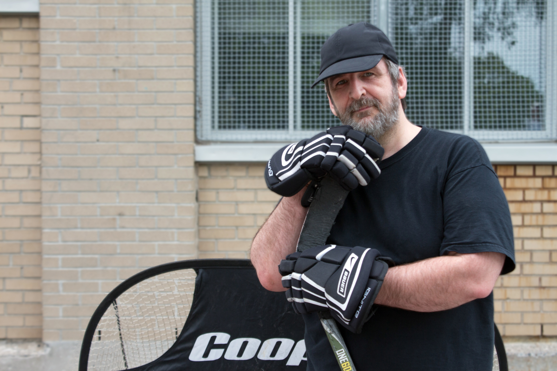 Tayaout-Nicolas local hockey star!