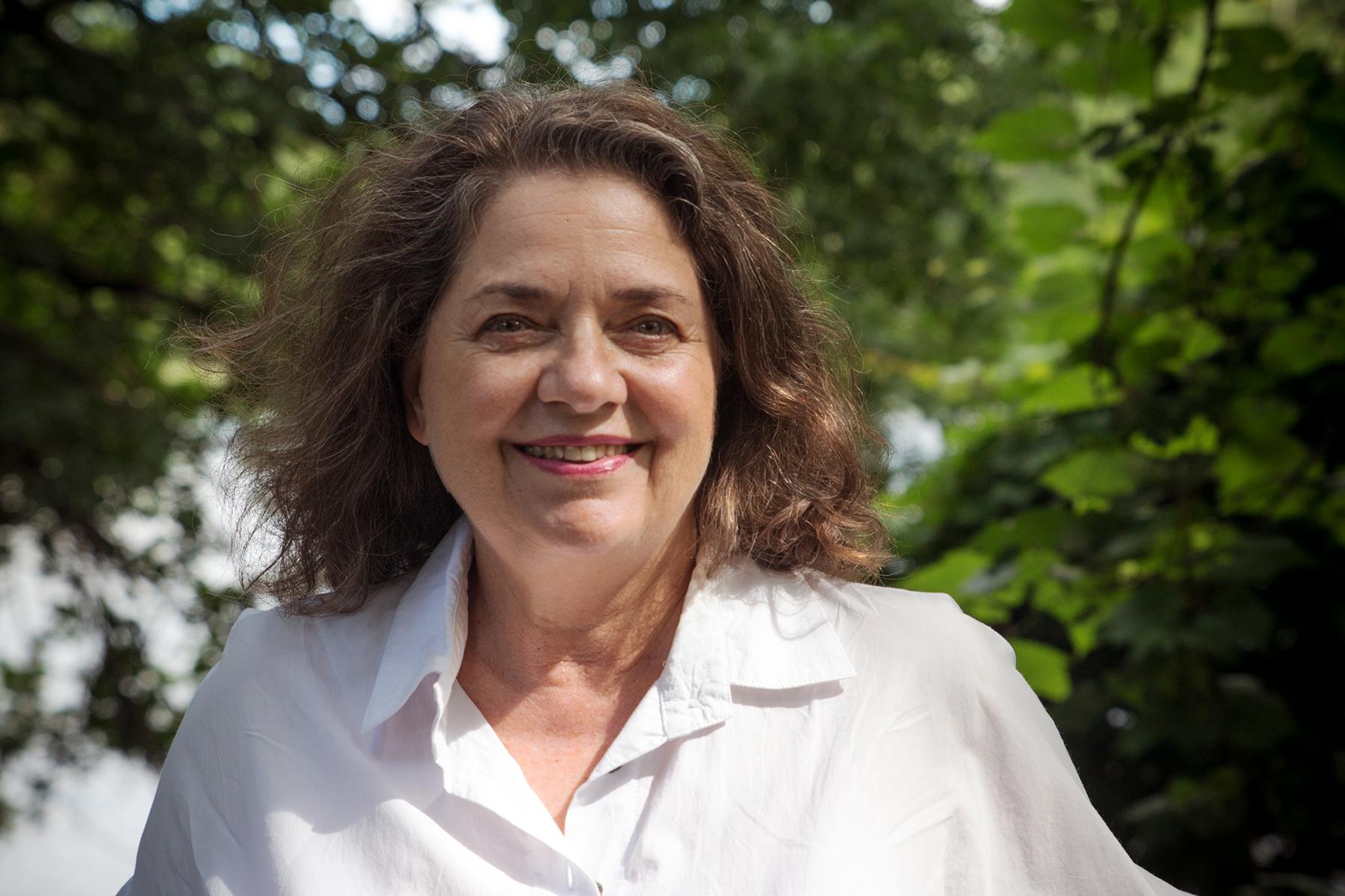 Denise P. in the Ile-de-la-Visitation Nature-Park