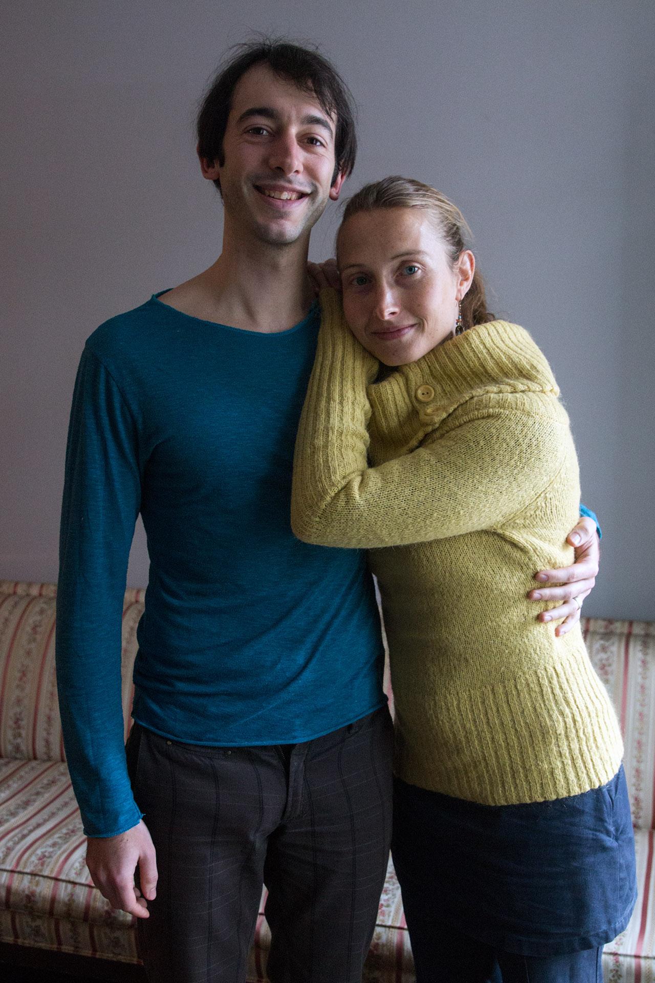 Raphaël and Raphaëlle